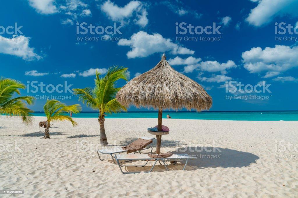 caribbean island Aruba – zdjęcie