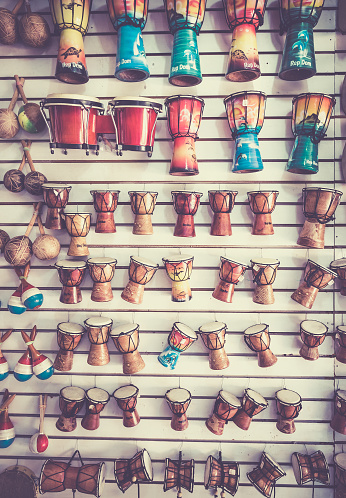 Caribbean Music Instruments Stock Photo & More Pictures of Art