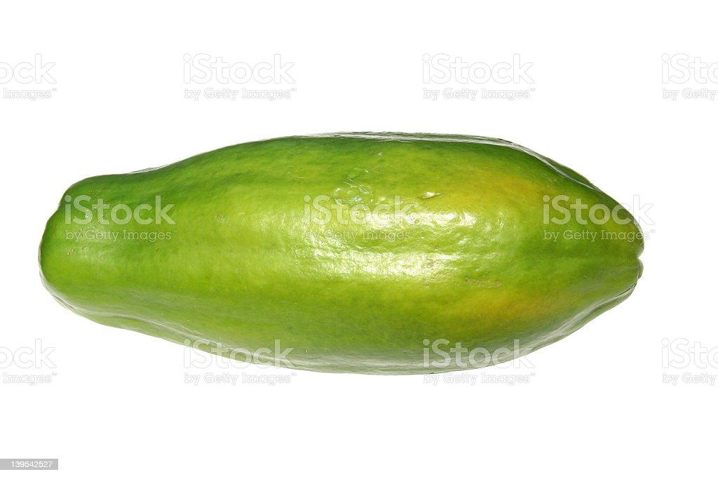 Caribbean Papaya royalty-free stock photo
