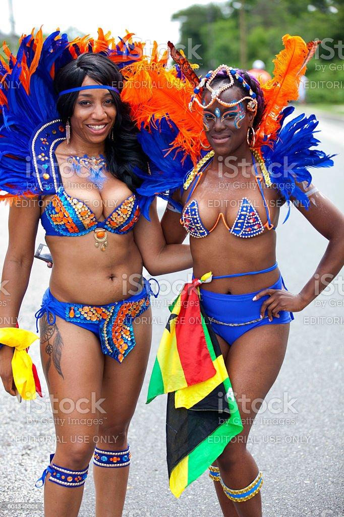 Caribbean Parade in Atlantic City, New Jersey stock photo