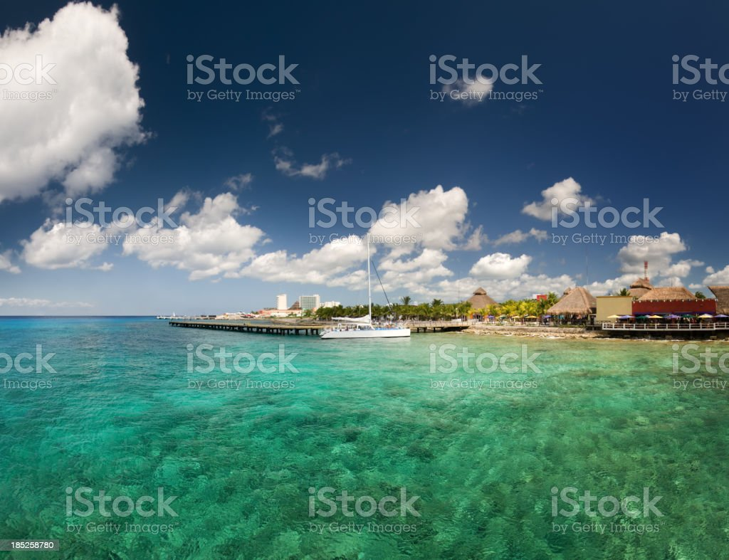 Caribbean Paradise - Cozumel royalty-free stock photo
