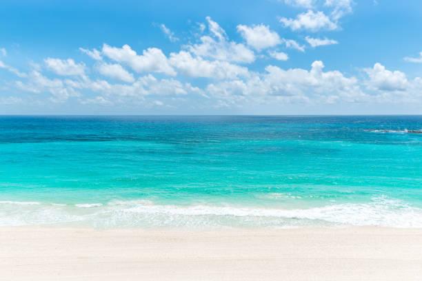 caribbean paradise - bahamas foto e immagini stock