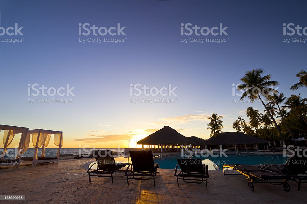 Caribbean paradise: Santo Domingo, Bayahibe stock photo