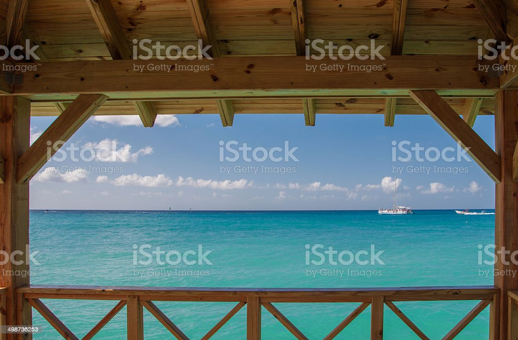 Caribbean Sea, Dominican Republic stock photo