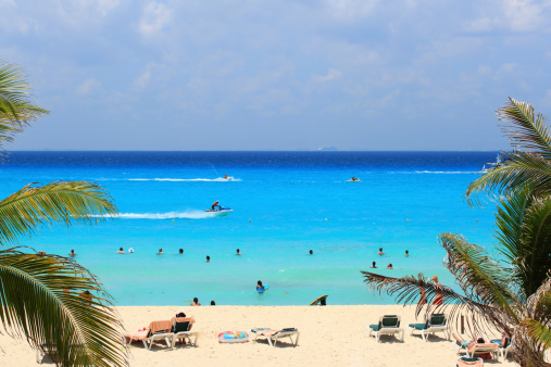 Caribbean Sea Of Mexico Stock Photo - Download Image Now