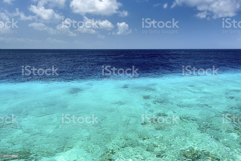 Caribbean Sea stock photo