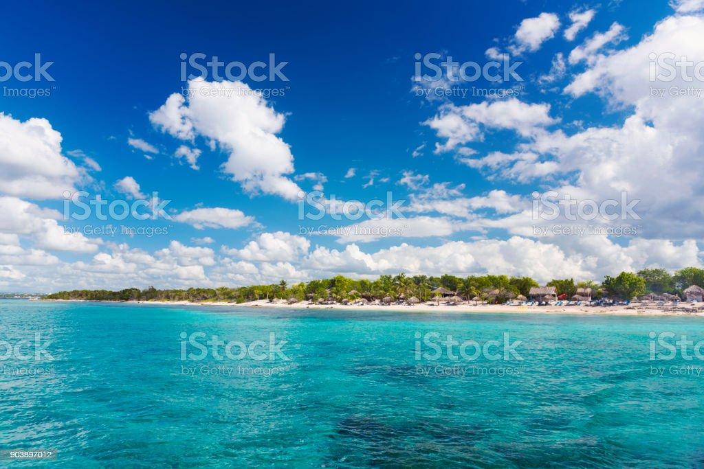 Mar caribe - foto de stock