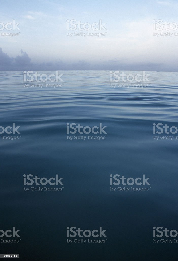 Caribbean sea, Seascape, sunrise royalty-free stock photo