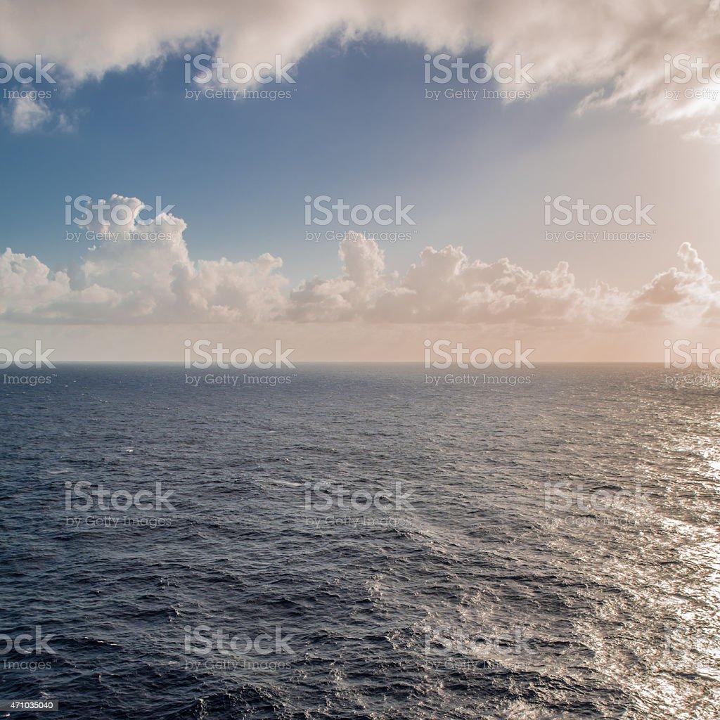 Caribbean Seascape stock photo