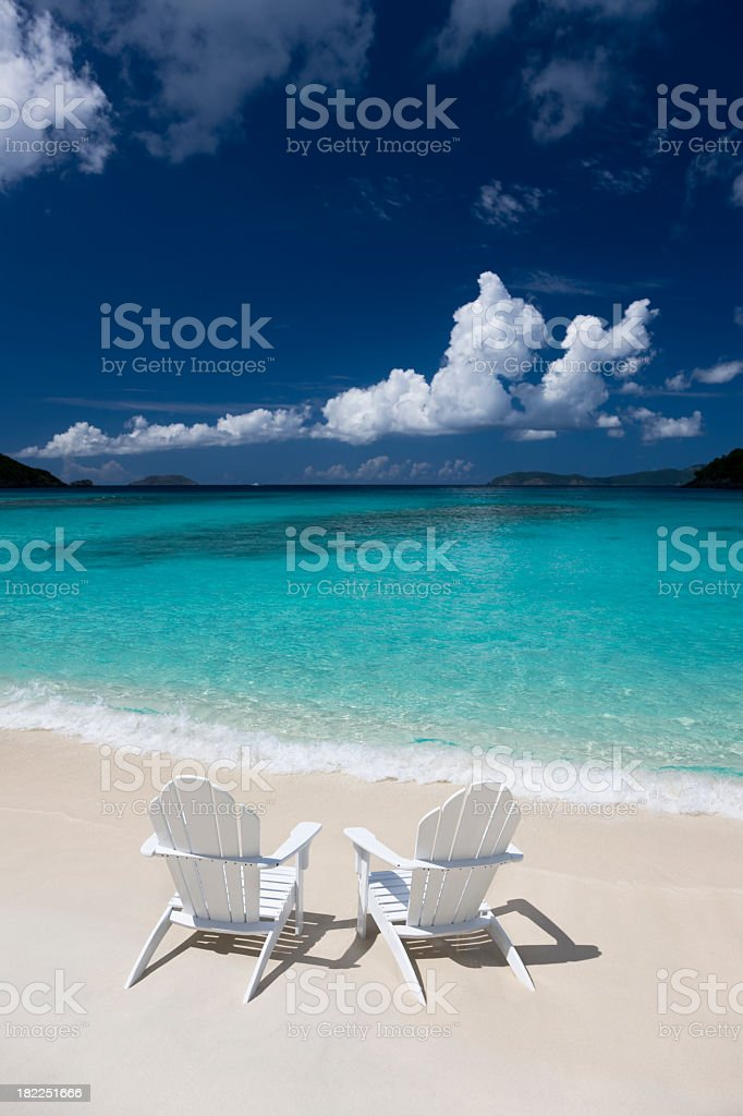 Caribbean summer vacation royalty-free stock photo