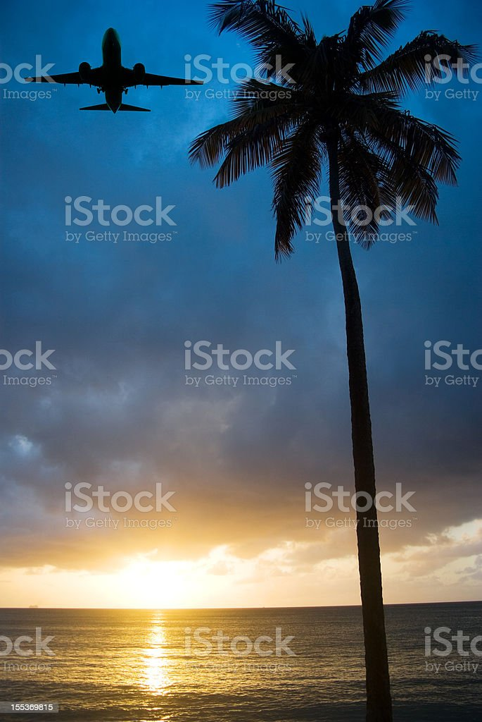 caribbean travel concept royalty-free stock photo
