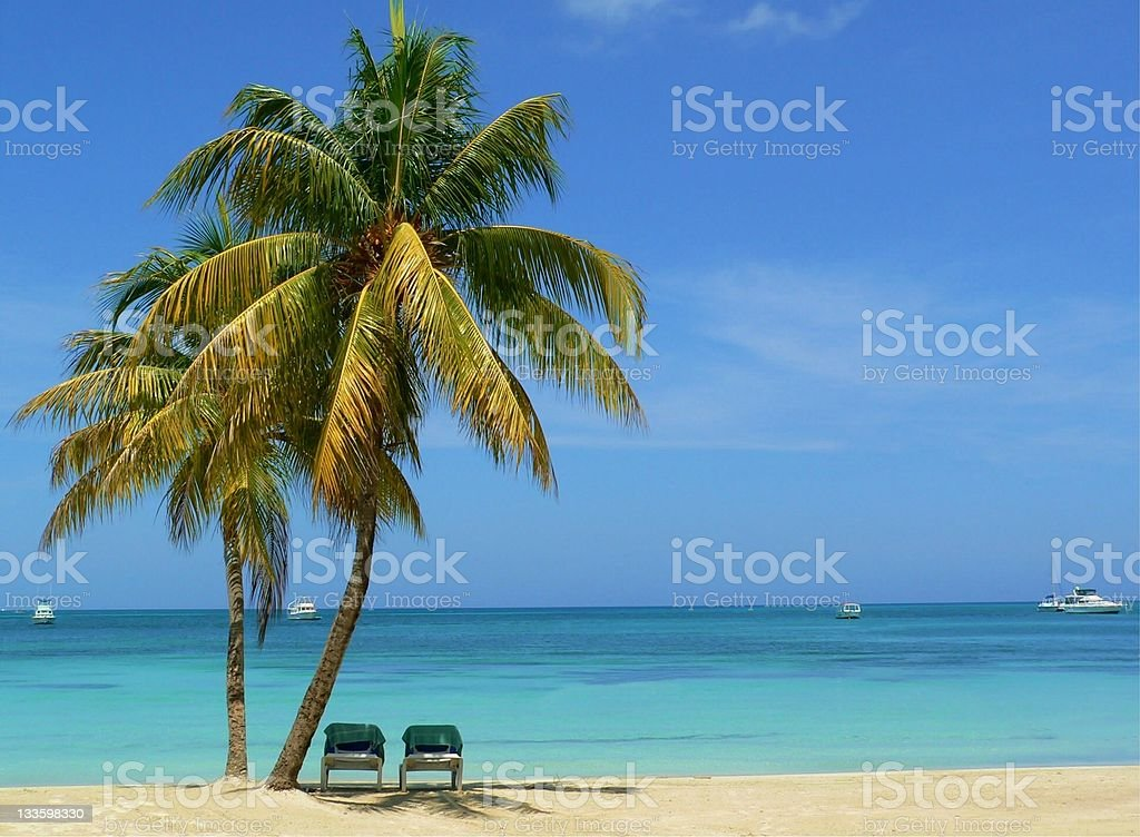 Caribbean Vacation royalty-free stock photo