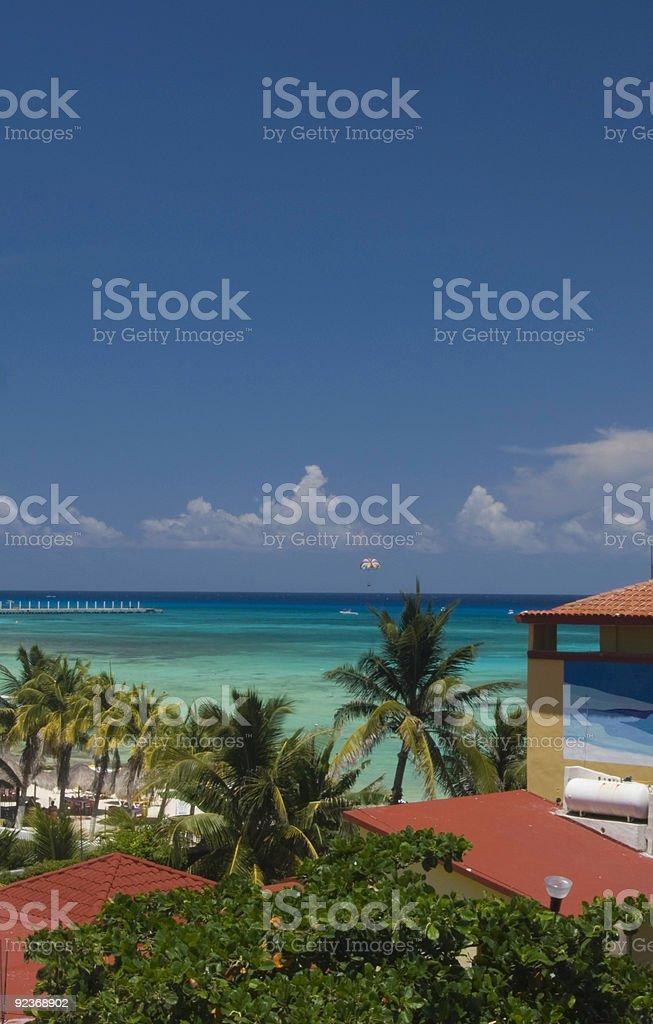 Caribbean View royalty-free stock photo