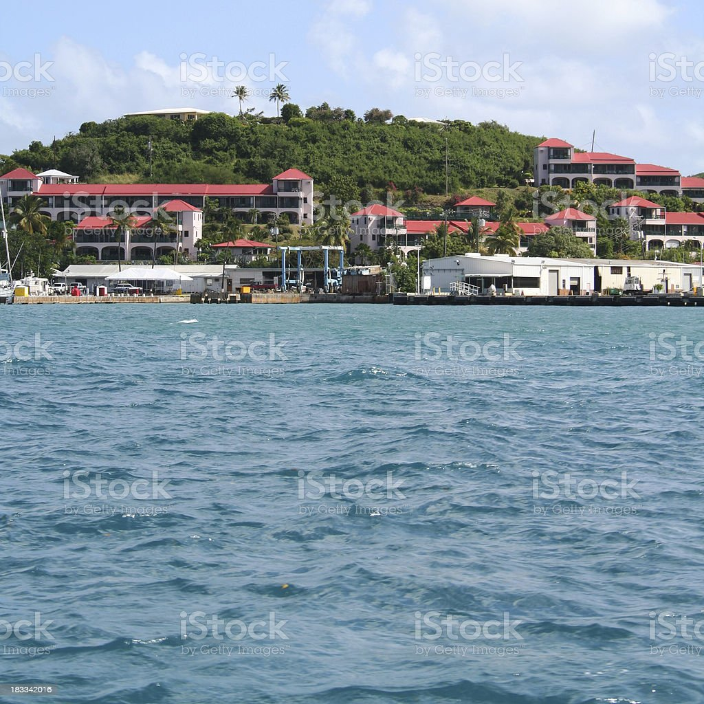 Caribbean: Virgin Islands stock photo