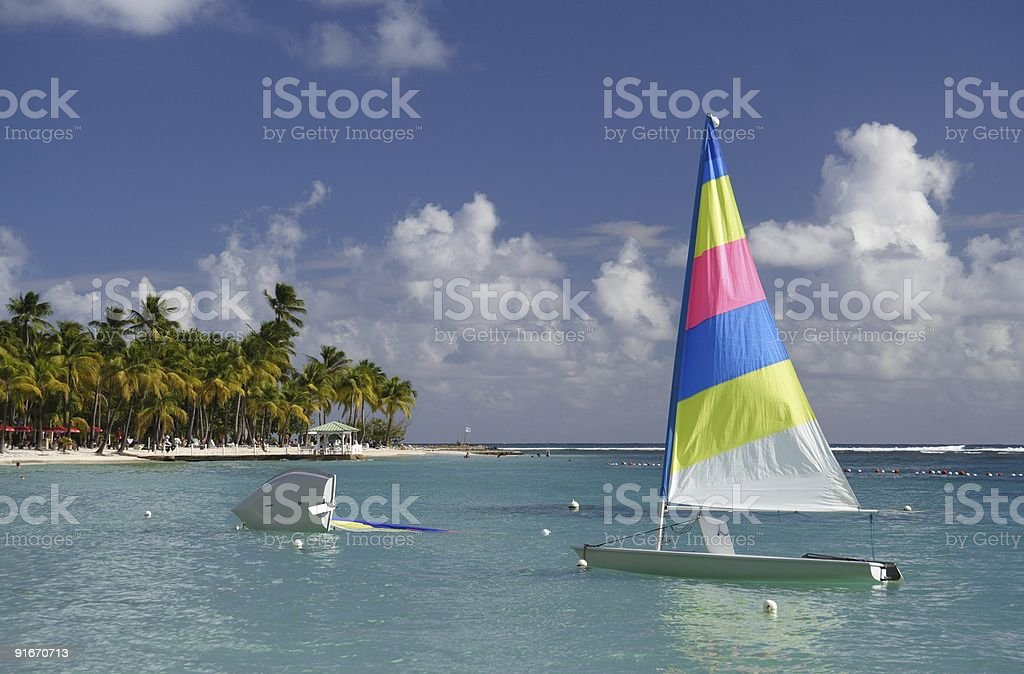 Caribbean Watersports royalty-free stock photo