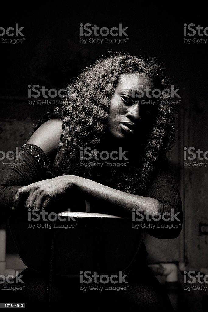 Karibische Frau – Foto