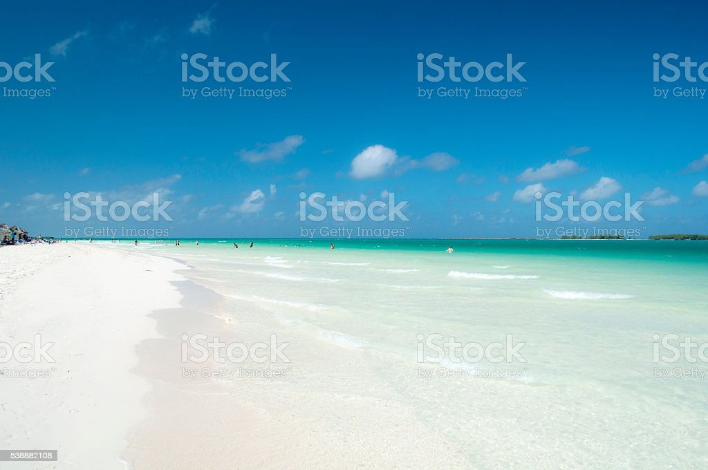 Playa Caribe - foto de stock