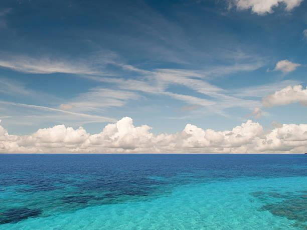 Caribean sea stock photo
