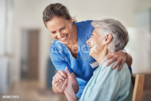 istock Caring comes naturally to her 809822820