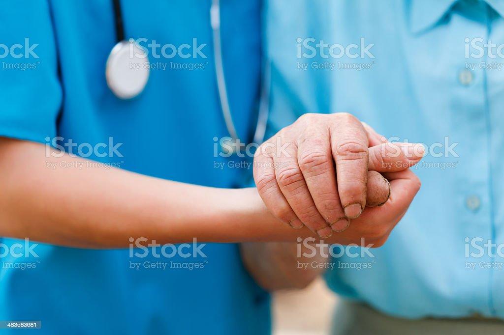 Pflege Älterer Konzept – Foto
