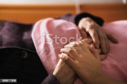 istock Caring elderly 588617906