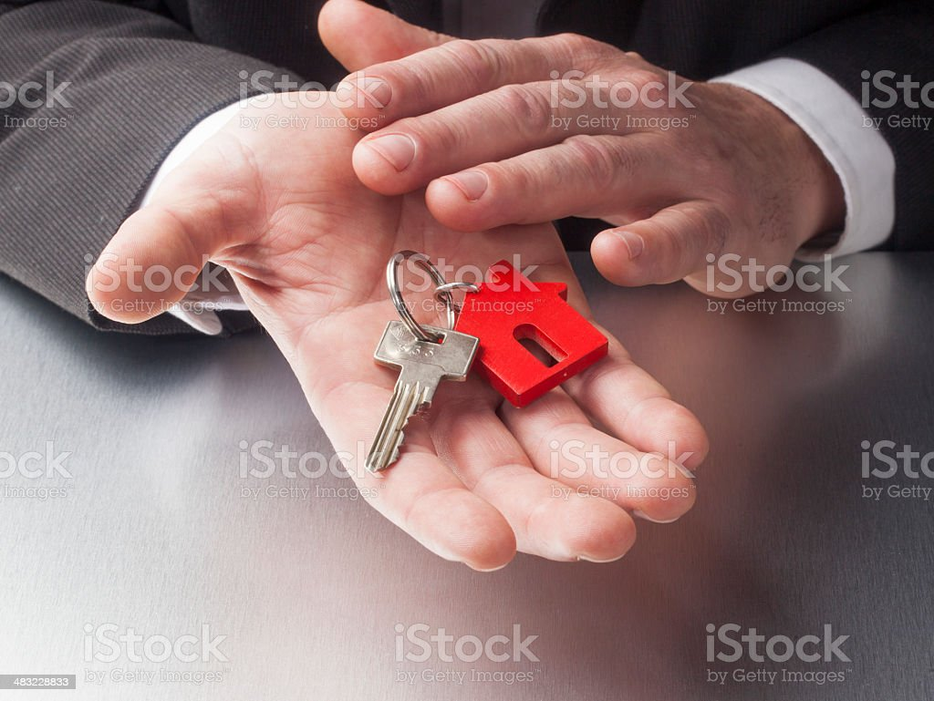 caring for real estate industy royalty-free stock photo