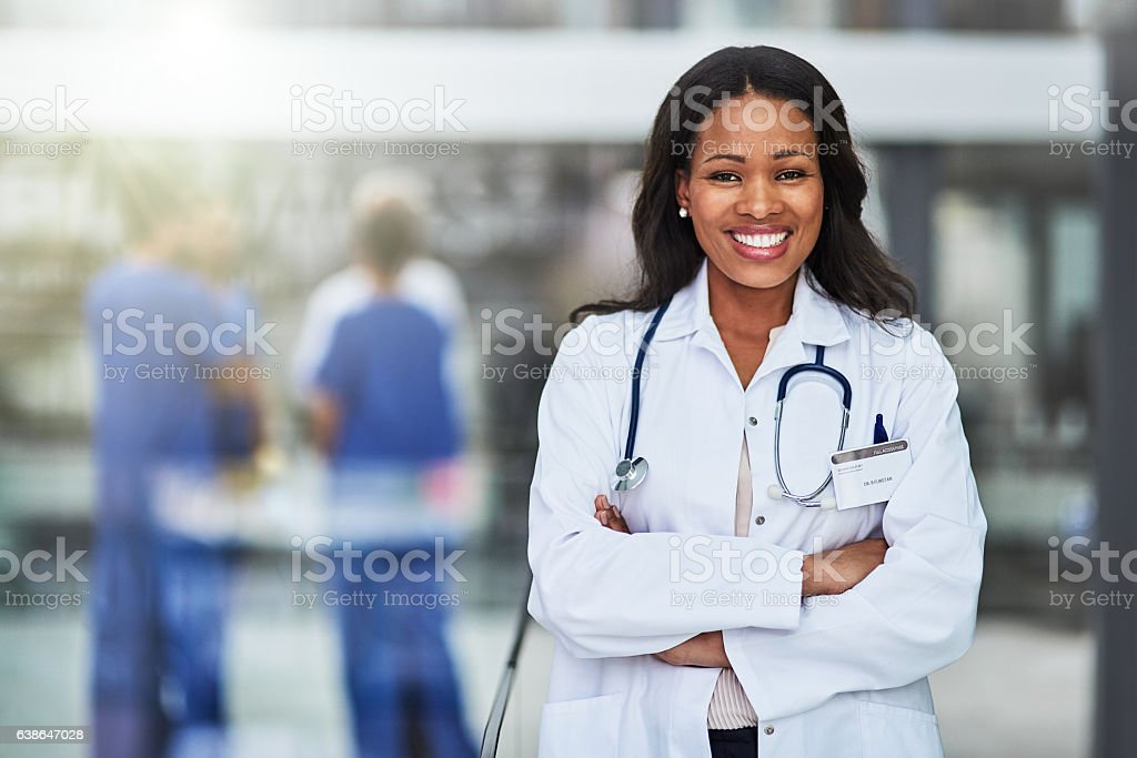 Caring for you is my calling stock photo
