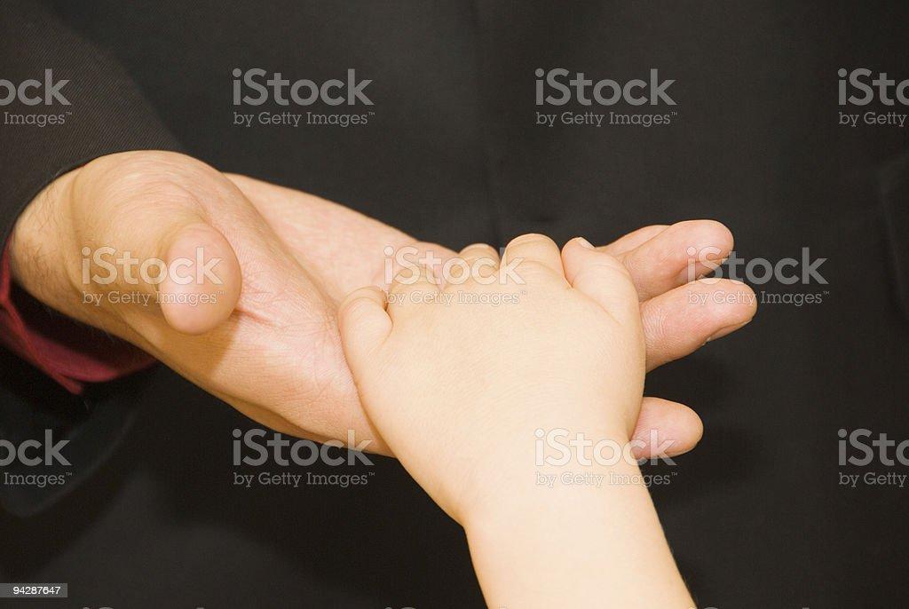 Caring hand royalty-free stock photo
