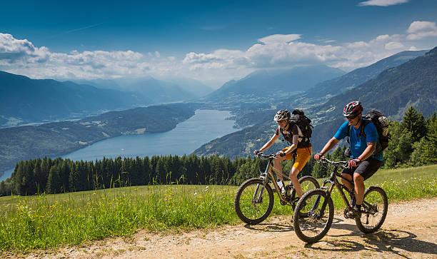 Carinthian spring Radfahren, Österreich – Foto