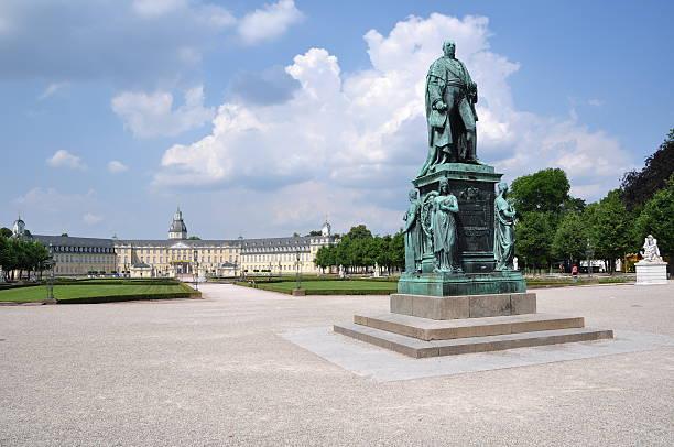 carl friedrich grand duke henri of luxembourg von baden - karlsruhe schloss stock-fotos und bilder