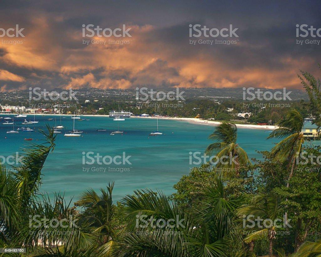 Carlilse Bay stock photo