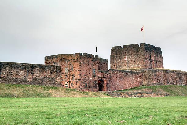 Carlisle Castle stock photo