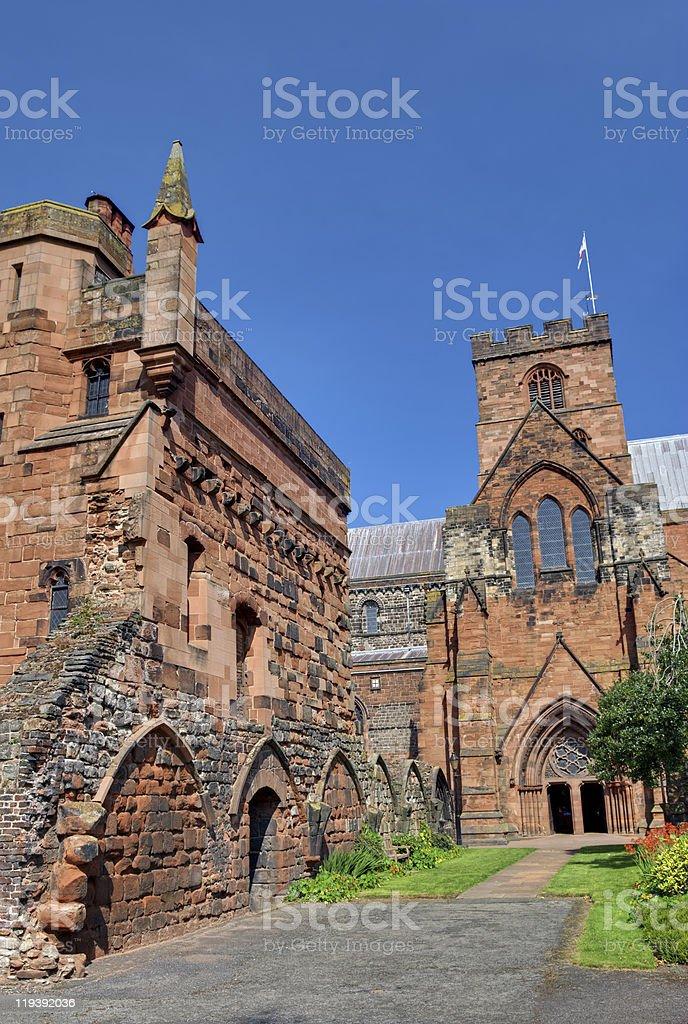 Carlisle Cathedral stock photo