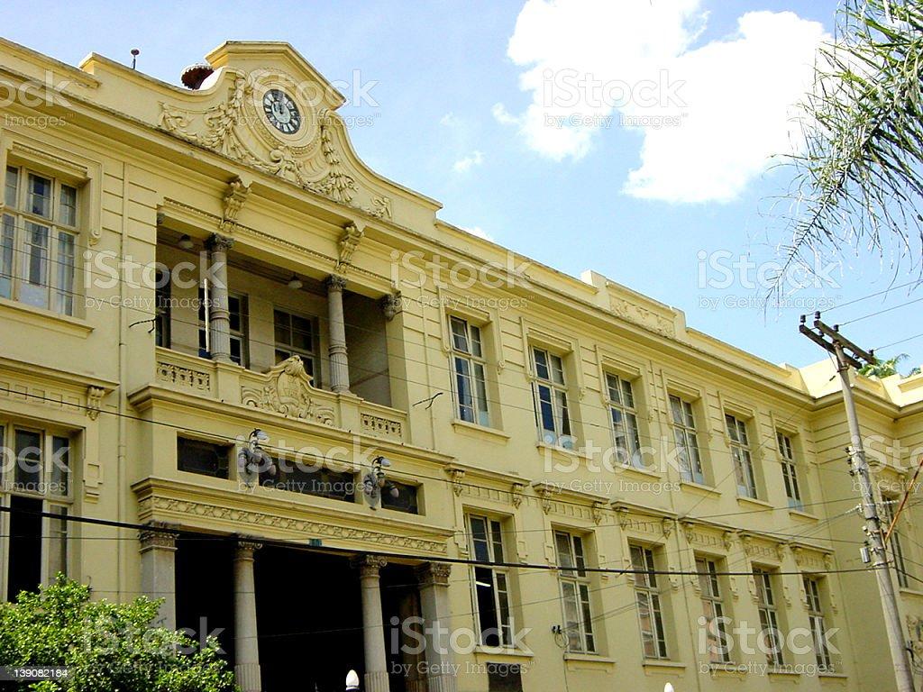 Carlos Gomes Primary School royalty-free stock photo