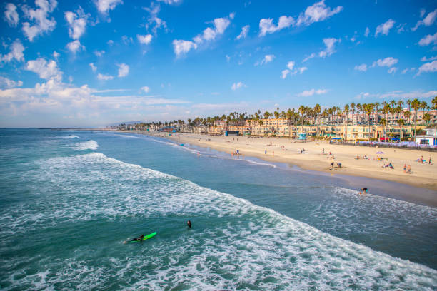 Carlsbad California stock photo