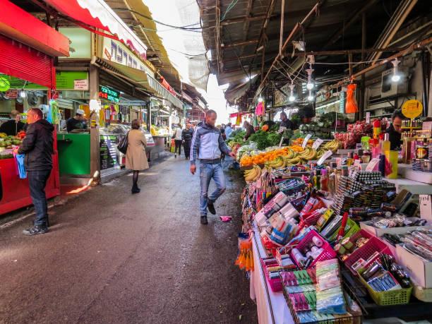 卡梅爾市場在特拉維夫圖像檔