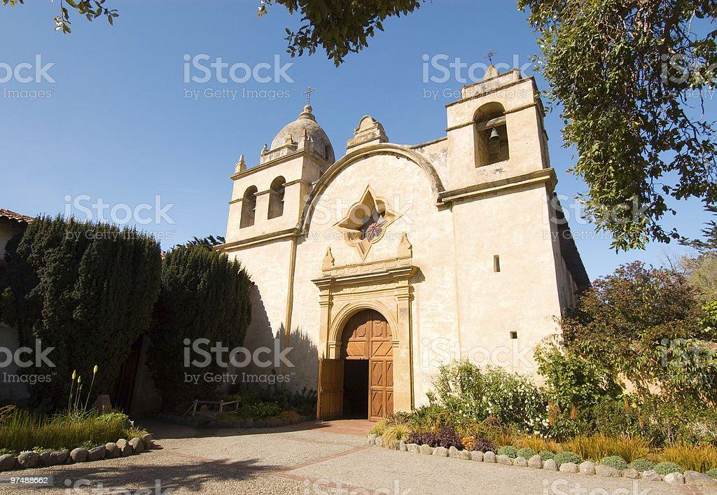 Carmel Mission royalty-free stock photo