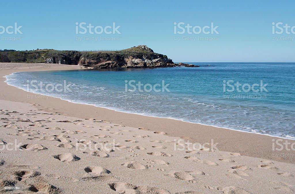 Carmel River Beach royalty-free stock photo