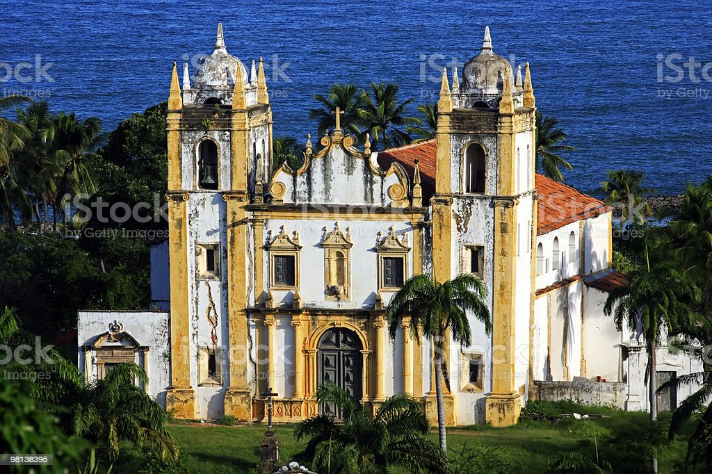 carmo church olinda recife brazil royalty-free stock photo