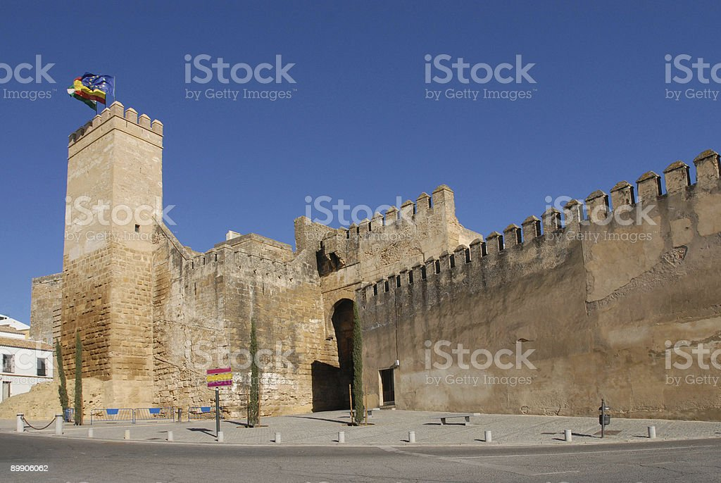 Carmona Seville Gate royalty-free stock photo