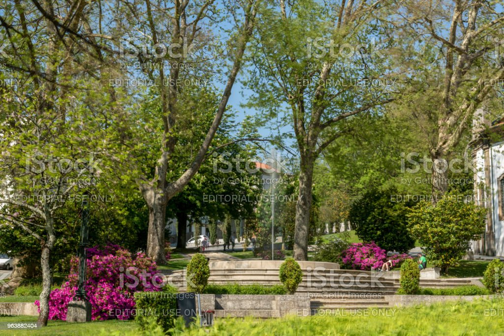 Carmo's Garden in Guimaraes - Royalty-free Architecture Stock Photo