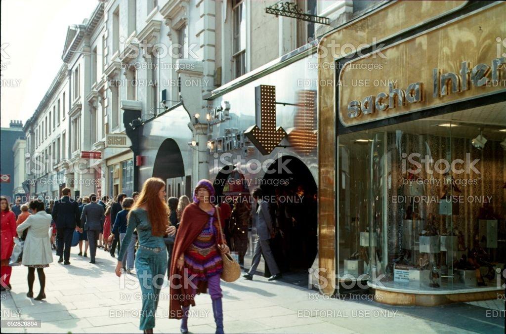 Carnaby Street, London, 1973 – Foto