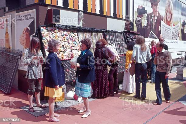 Carnaby Street London 1973 Stock Photo - Download Image Now