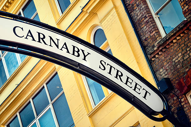 Carnaby Street, London.  carnaby street stock pictures, royalty-free photos & images