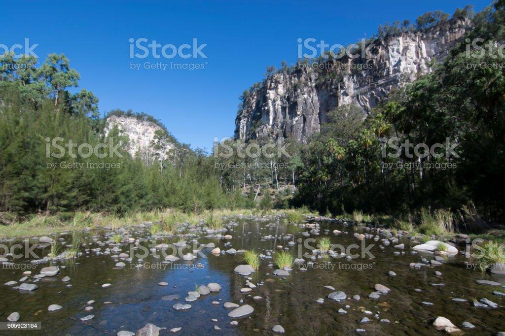 Carnarvon Gorge, Queensland - Royalty-free Ajardinado Foto de stock