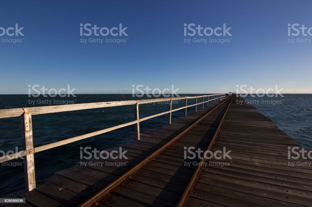Carnarvon Jetty stock photo