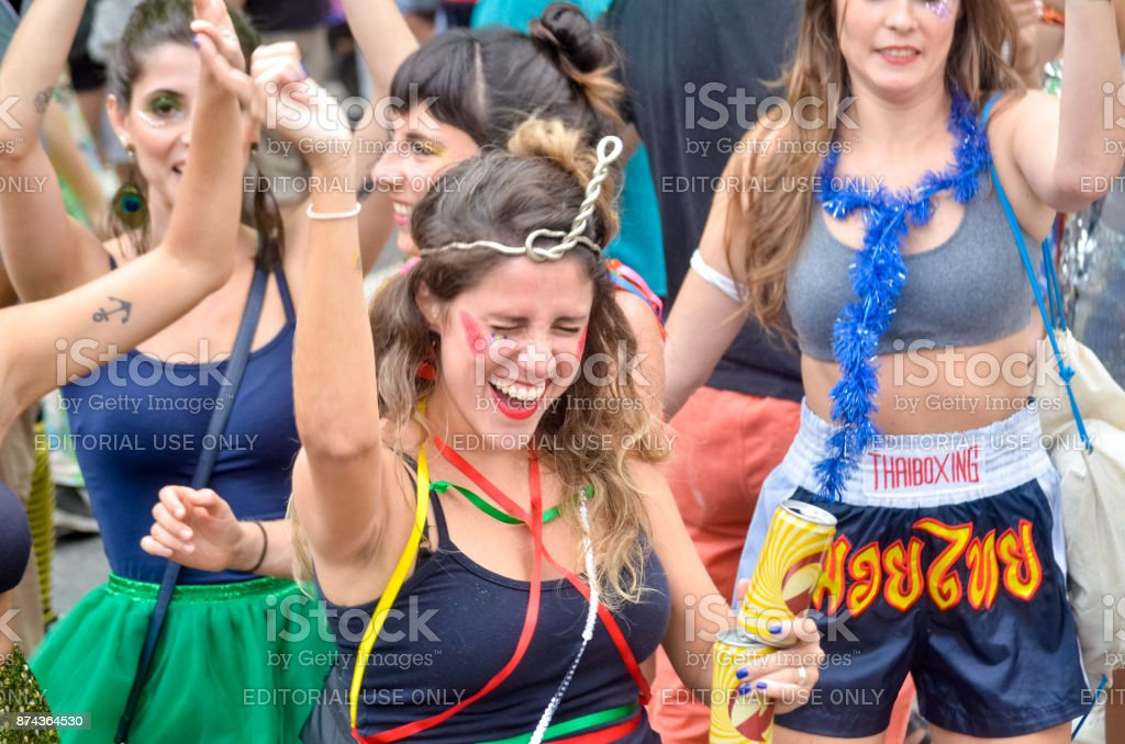 Carnaval de Rua 2017 - foto de stock
