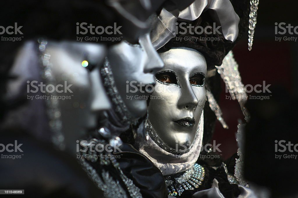 Carnavale Eyes stock photo