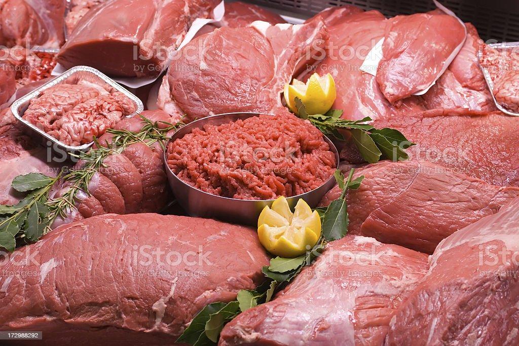 Carne fresca royalty-free stock photo
