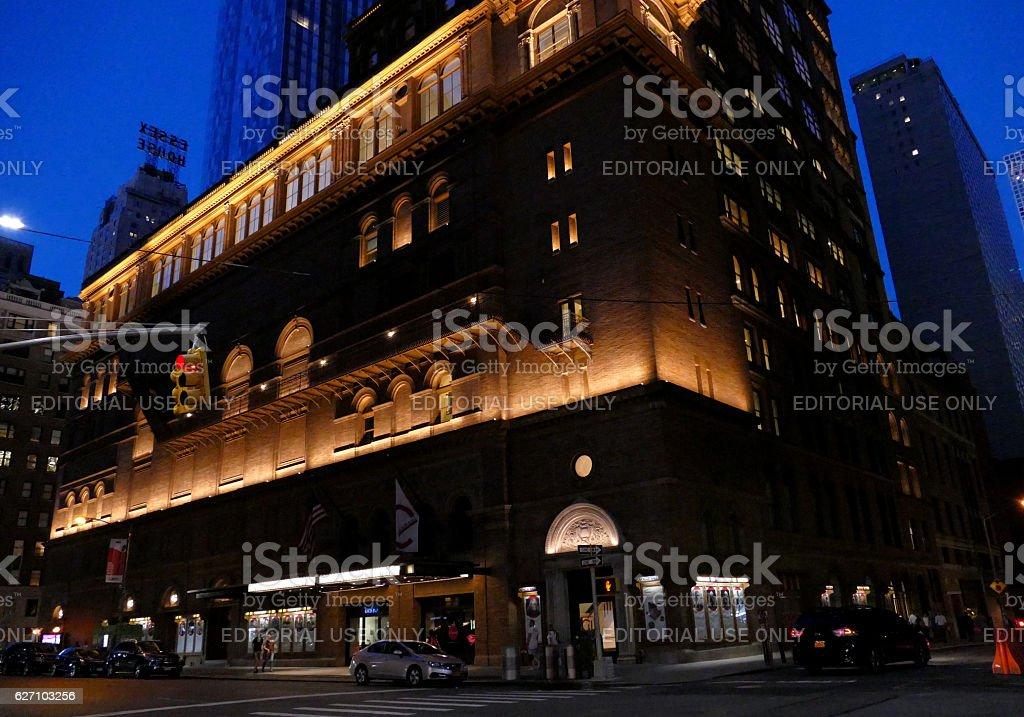 Carnegie Hall, Manhattan, New York City stock photo